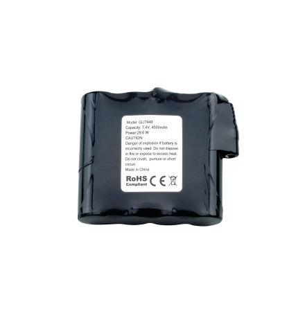 Litiumbatteri 7,4V til Varmevest eller Undertøy